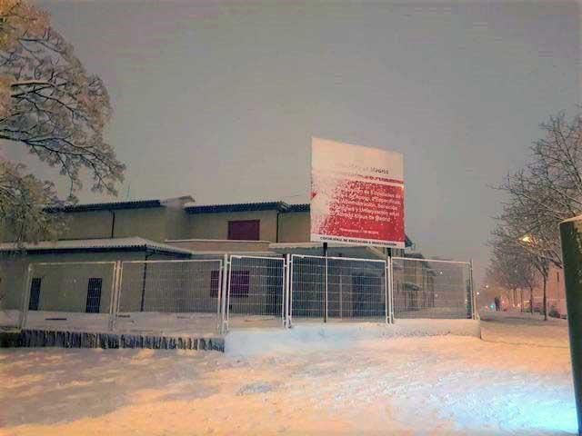instituto alfredo kraus vuelta aulas nieve