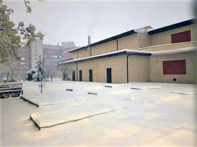 instituto alfredo kraus nieve vuelta aulas suspensión