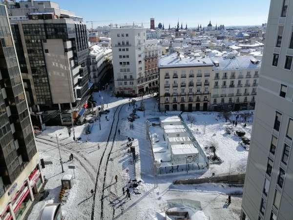 nieve plaza santo domingo