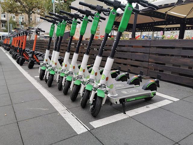 e-scooter vehículos eléctricos madrid