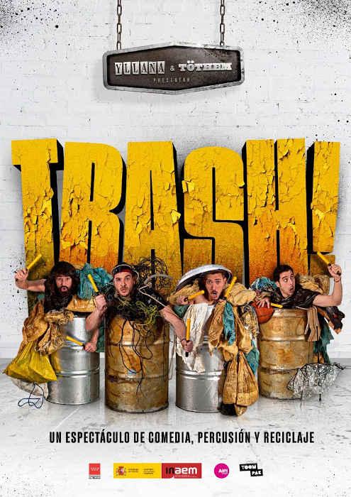 Yllana, estreno Trash!