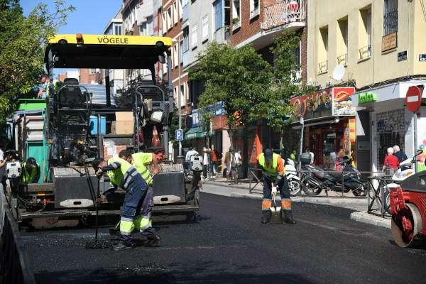 Reformas calles Operación Asfalto 2021