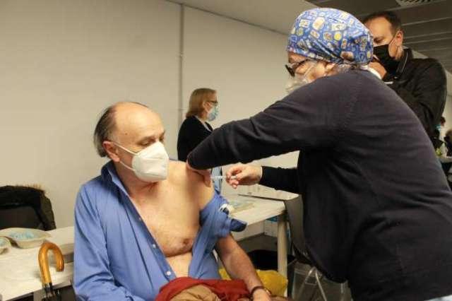 wizink center centro vacunación vacunado 1