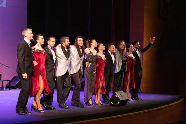 Grupo de tango argentino en Torrejón