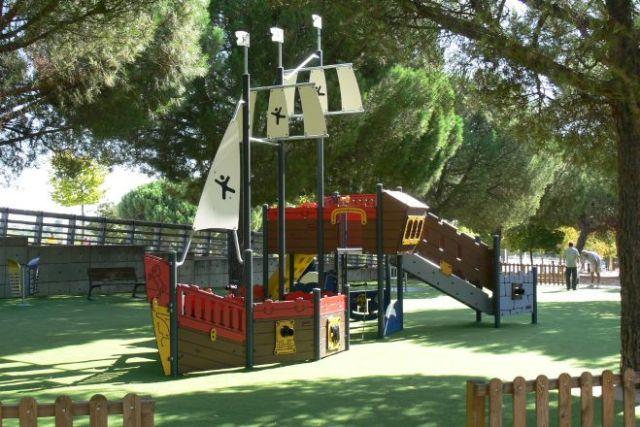 Parque Juan Carlos I. Buscador de parques Madrid.