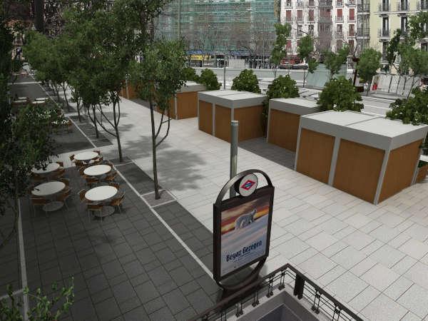 Avenida Felipe II en futuro
