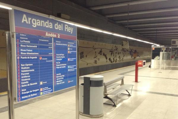 Metro Arganda del Rey