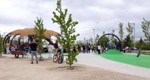 parque moratalaz abierto cuña verde