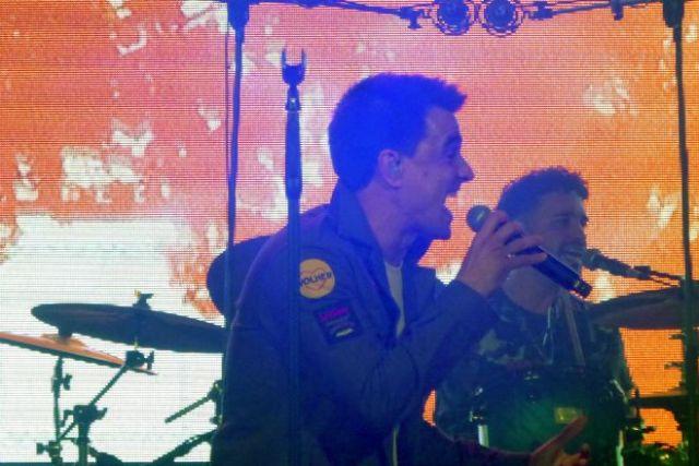 Comandante Twin en concierto