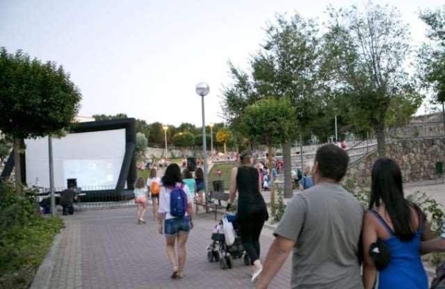 cine de verano pueblos madrid