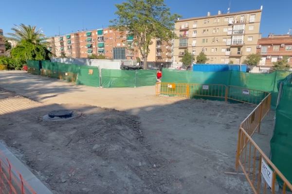 Obras renovación aceras