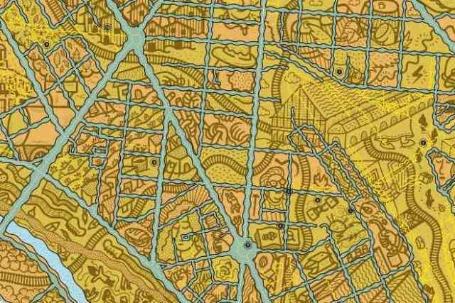 mapa ruta delicias