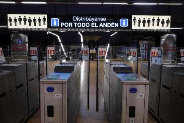 tornos metro madrid renovación