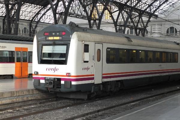 Tren Renfe Barcelona