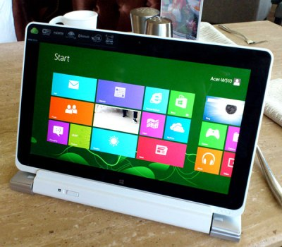 Layar - Iconia PC Tablet Dengan Windows 8