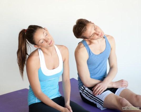Stretching untuk mengatasi nyeri leher