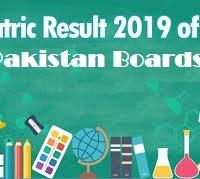 Matric Result 2019