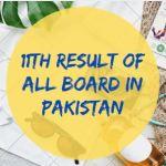 Intermediate Result of All Board in Pakistan