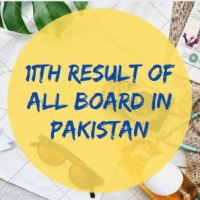 Intermediate Result of All Board in Pakistan