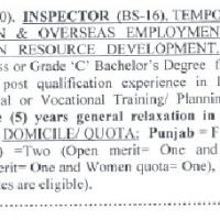 Inspector Jobs