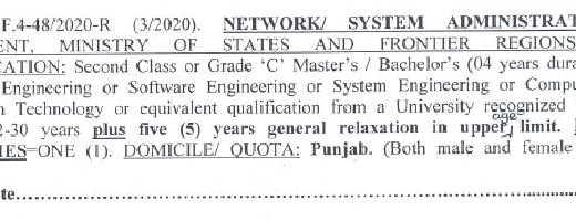 Network or System Administrator jobs