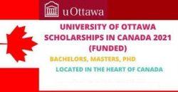 Funded Scholarships 2021 in University of Ottawa, Canada