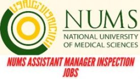 NUMS Assistant Manager Inspection Jobs