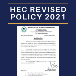 HEC Revised Policy 2021