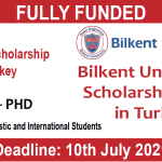 bilkent university scholarship 2021 in turkey