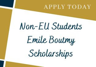 Non-EU Students Emile Boutmy Scholarships