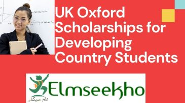 UK Oxford Scholarships for Developing Country Students