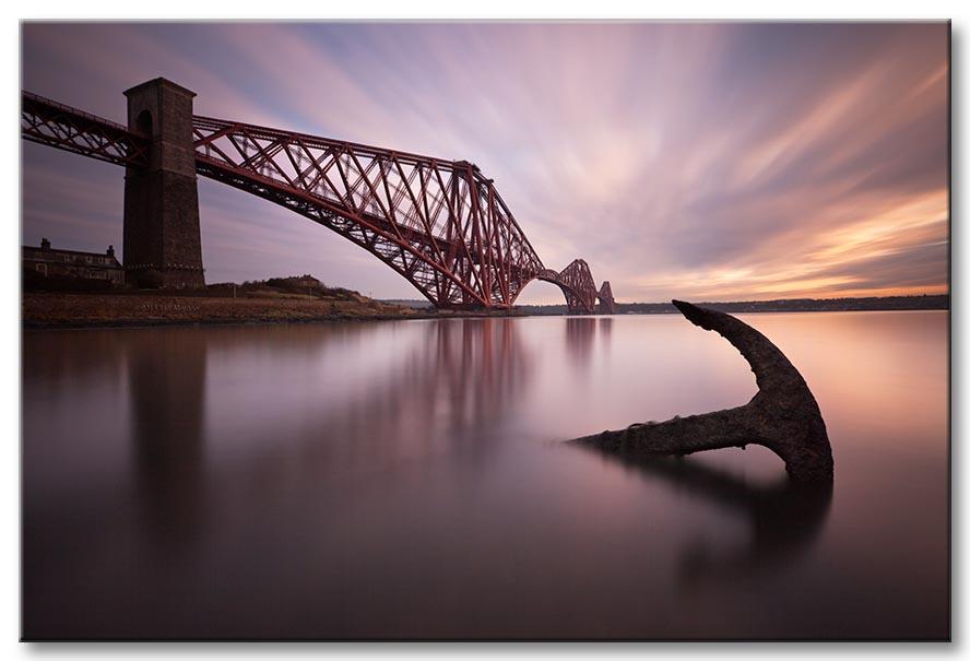 Photograph of the Forth Rail Bridge by Jeff Morgan