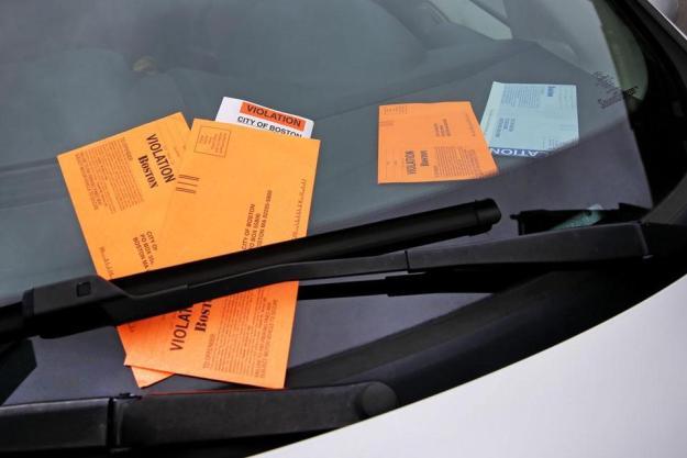 Back Bay y el distrito financiero de Boston son las zonas donde se emiten más 'parking tickets'. Foto: The Boston Globe