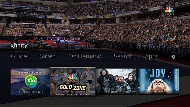 X1 Olympics home-screen-1