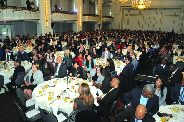 Great attendance, more than 500 guests enjoyed a memorable morning during the seventh edition of El Mundo Hispanic Heritage Breakfast.