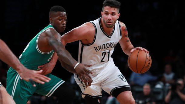 Greivis Vásquez repartió tres asistencias en 18 minutos contra los Celtics.