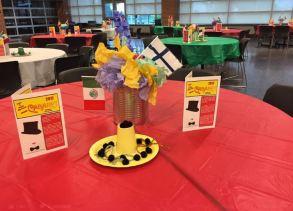 cafeteria setup
