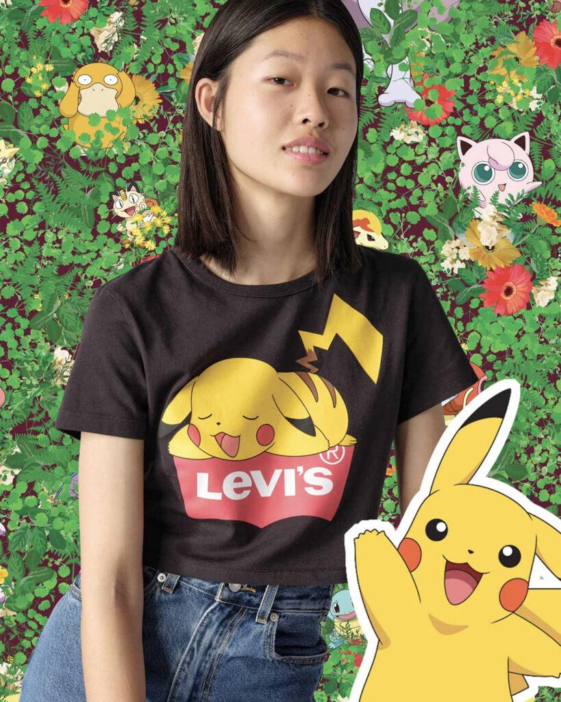 Levi´s Pokémon lo nuevo de Levi´s