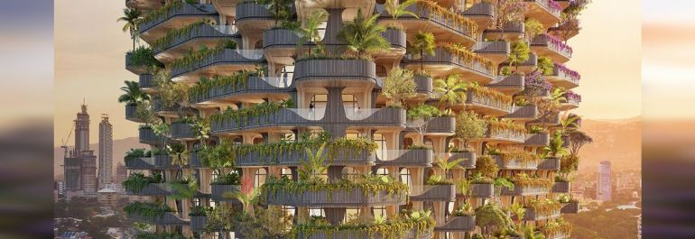 Vincent Callebaut Architectures diseña The Rainbow Tree, torre residencial Passivhaus en Filipinas