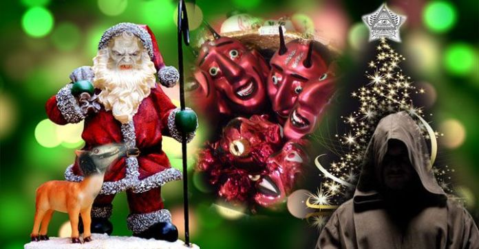 origen maldito de la navidad significado verdadero