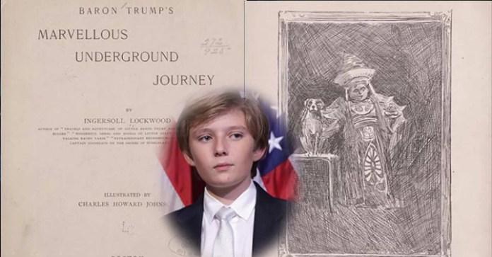 Ingersoll Lockwood Los libros del siglo XIX que hablan del hijo de Trump