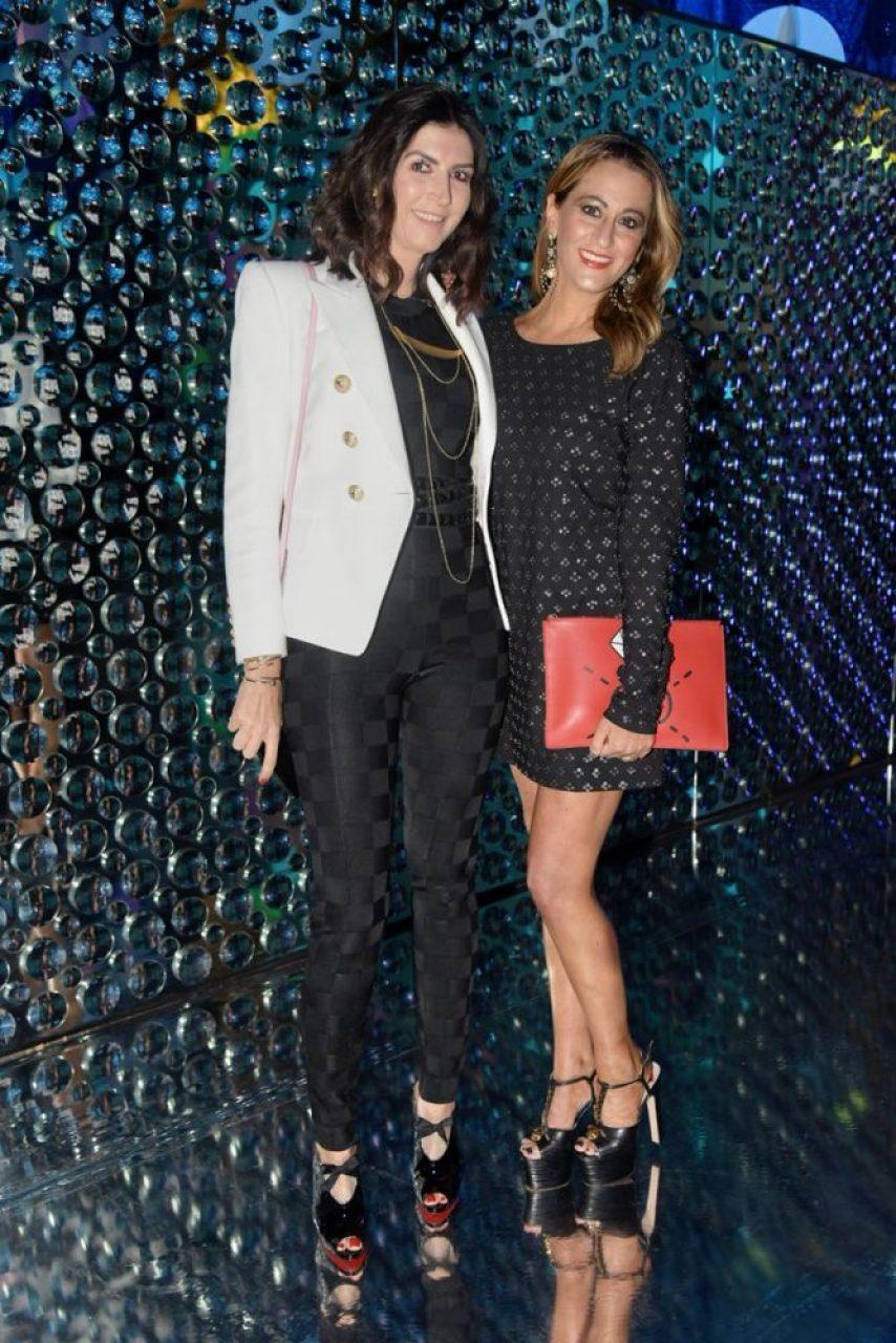 Eva Saba y Jeanette Arari.