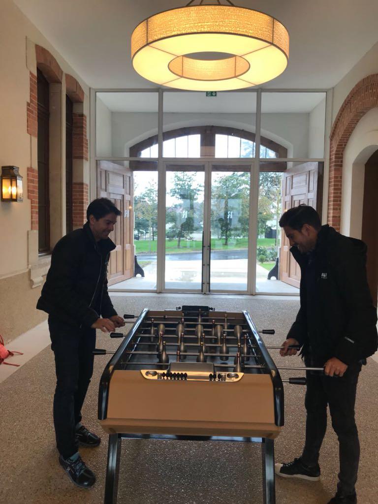 Abe Marcondes y Esteban Abascal en Paris