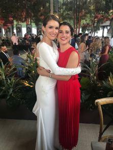 3. La novia con Ana Mari Quijano.