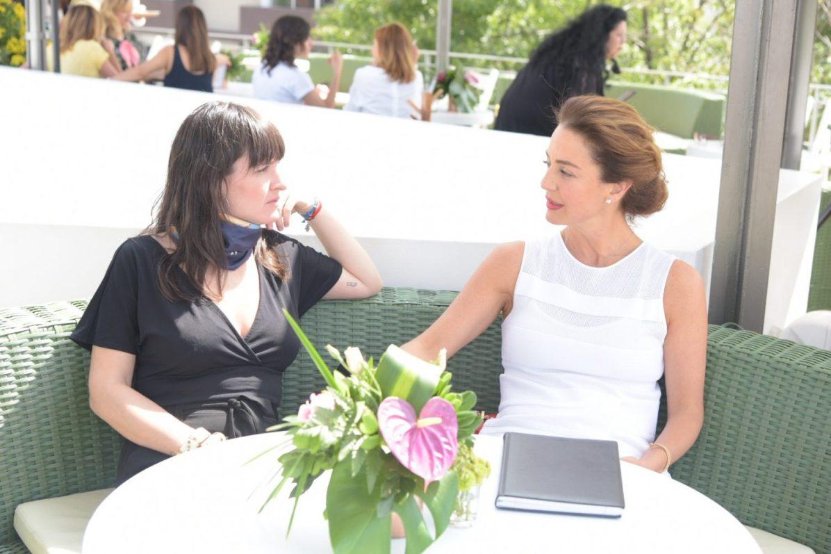 Rebeca Delao y Andrea Blumenkron