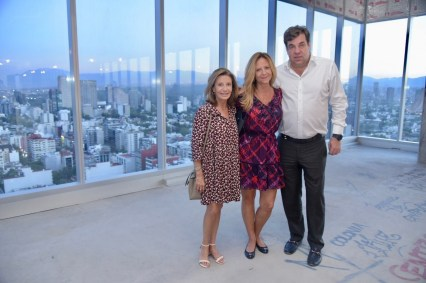 Julieta, Quetty y Alejandro Pasquel
