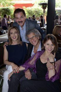 Jamehel Guerra, Gerardo Chávez, Luigi Macotta y Silvia Carusillo