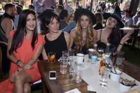 Tanny Favela, Lili Paredes, Karla Rojo de la Vega y Bea Mireles