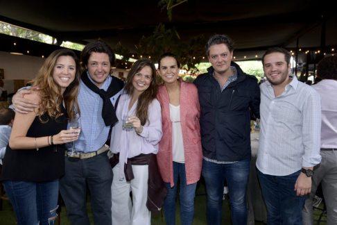 Mara Suero, Chema Jurado, Marisol Cabrero, Yolanda Aguilar, Fernando Gurza y Miguel Orihuela