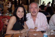 Ana María Cuenca y Alejandro Garza